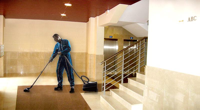 Limpieza de zonas comunes