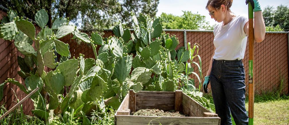 jardinería por el confinamiento del coronavirus